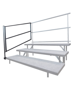 Choir Riser Guard Rails